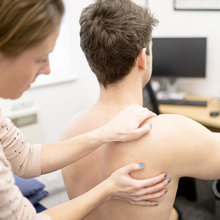Shoulder pain treatment dunmow